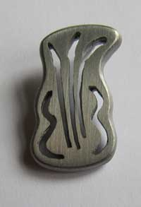 2012 pin: our logo cast in pewter