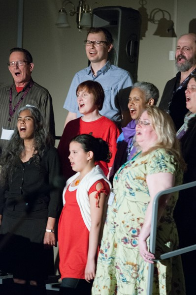 Weekend Choir with Andy Rush