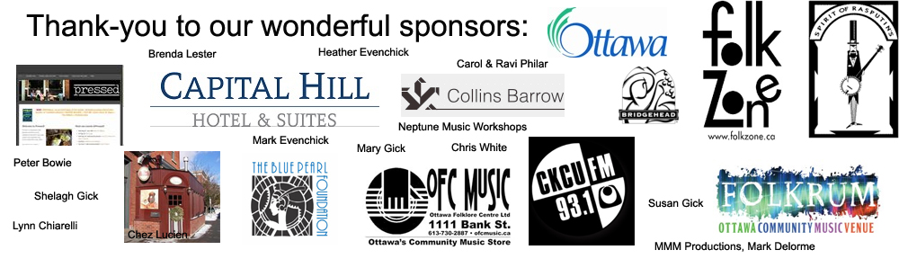 Thank you to our wonderful sponsors!