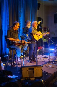 Left to right: Hollis Morgan, Dave O'Heare, Greg Kelly