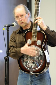 Hollis Morgan with Dobro at Musical Instruments – Watch and Try