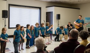 Sparrows – home-schooled childrens' choir led by Chris White