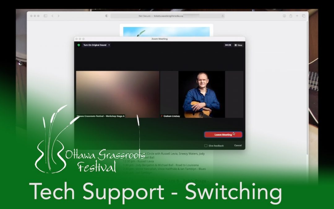 Tech Tip #3: Switching Between Workshop Stages (with video)