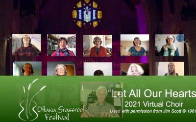 Virtual Choir: Let All Our Hearts